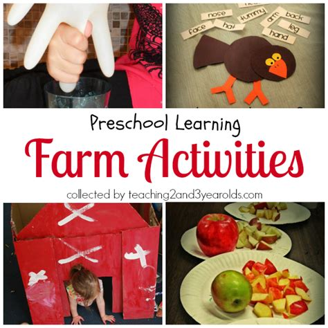 preschool farm theme 700 | Farm Activities Header 1