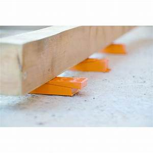 cale crantee secable pour pose et calage de terrasse ou de With cale pour pose parquet stratifié