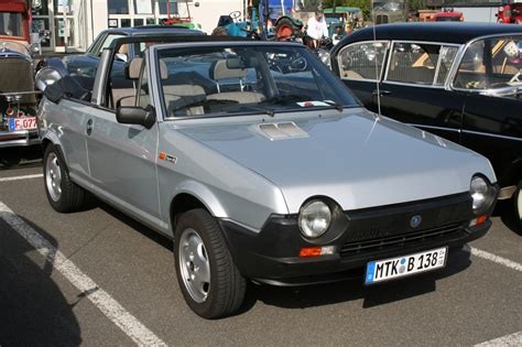 Fiat Ritmo Fiat Ritmo S 85 Cabrio Bertone Pictures