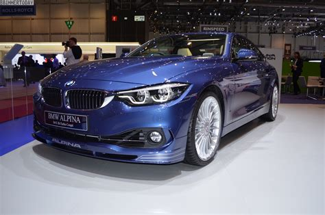 Bmw Alpina Price by 2017 Geneva Bmw Alpina B4 S With Facelift And Update To