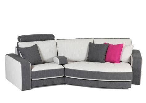 canape bicolore acheter votre canapé contemporain bicolore gris et blanc