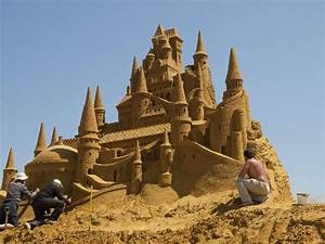 World's Largest Sand Sculpting Festival Pays Tribute To ...