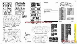 Cat C9 Industrial Engine Electrical System Schematic