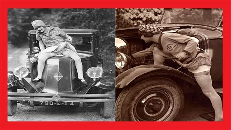22 Funny Vintage Photos Of Flappers Posing With Their
