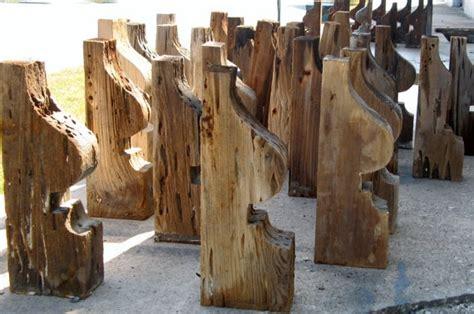 Cypress Corbels by Pecky Cypress Reclaimed Wood Corbels