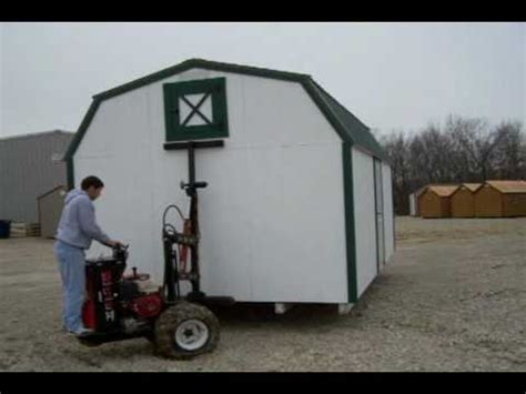 mule iii shed mover how to move building doovi