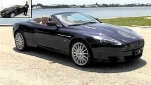 2007 Aston Martin Db9 Volante Convertible Midnight Blue