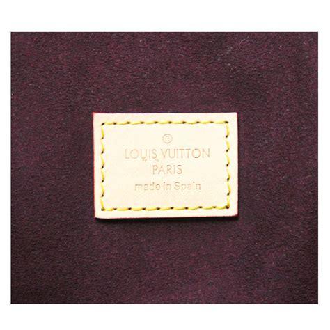 louis vuitton tuileries monogram canvas handbag tote purse   box  stdibs