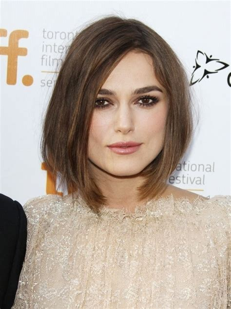 Keira Knightly   Hairspiration: the Cutest Bobs & Lobs for