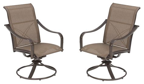casual living worldwide recalls swivel patio chairs due to