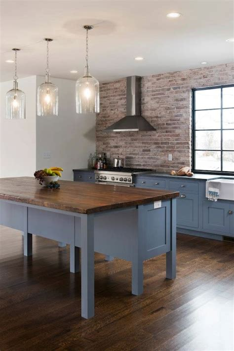 blue kitchen cabinets contemporary kitchen pinney