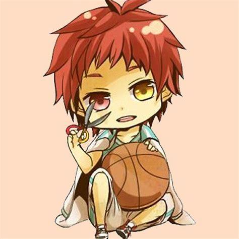 kuroko no basket akashi seijuro chibi sticker by