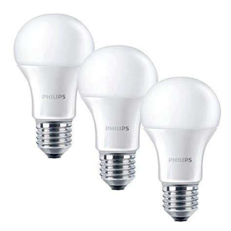 philips e27 edison light bulb 9 w warm white
