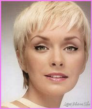 Hairstyle Short Pixie Haircut for Round Faces