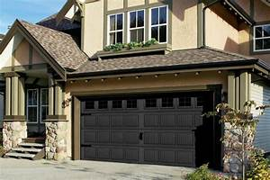 Black carriage house garage doors geekgorgeouscom for Black carriage house garage doors
