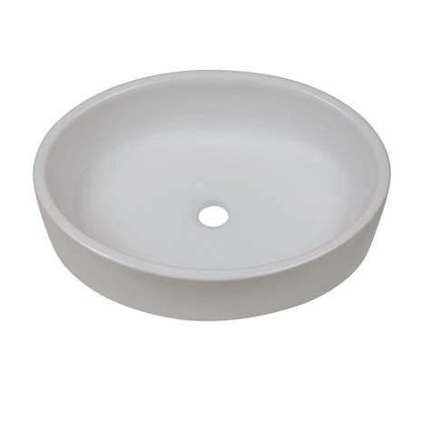Decolav White Vessel Sinks by Decolav Classically Redefined Vessel Sink In White 1459
