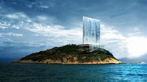 This Artificial Waterfall Will Power Olympics 2016