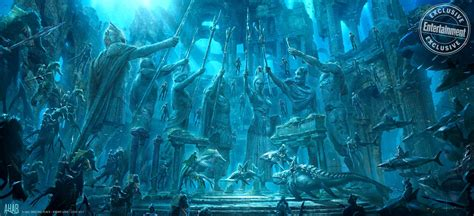 news aquaman    atlantis warriors riding