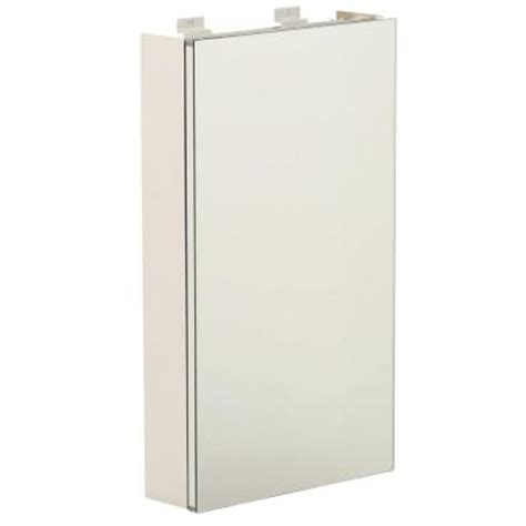 Glacier Bay Medicine Cabinet Mirror by Glacier Bay 15 In X 26 In Surface Mount Light