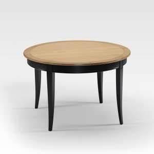 Table Ronde Extensible Bois : table en bois 4 ~ Teatrodelosmanantiales.com Idées de Décoration