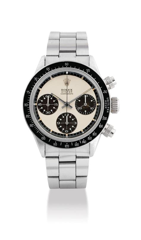 ROLEX. AN EXCEPTIONALLY FINE AND RARE STAINLESS STEEL ...