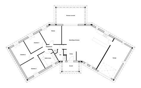 plan de maison 3 chambres plan maison 2 chambres esquisse 3d plan de maison avec 2