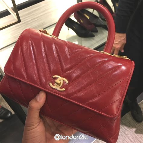 l2kl chanel coco handle a92990 in calfskin rm14 000 luxury fashion
