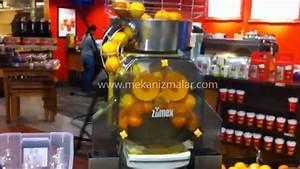 Machine A Orange Pressée : orange juice machine youtube ~ Melissatoandfro.com Idées de Décoration