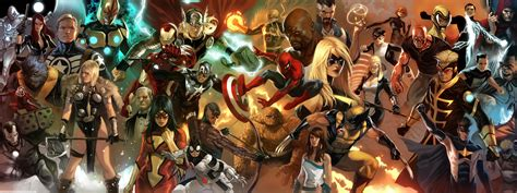 Cool 3 Monitor Backgrounds Marvel Comics Wallpapers Hd Desktop And Mobile Backgrounds