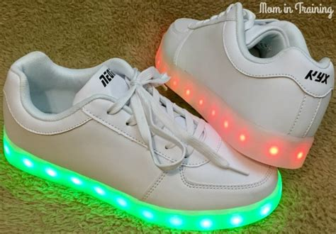 neon light up shoes tilton reviews neon kyx light up sneakers for the