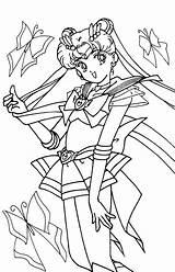 Sailor Moon Coloring Anime Sailormoon Tsuki Colouring Manga Crystal Cartoon Hollowmoon Colorare Train Friends Matsuri Luna Young Results Mercury Moons sketch template