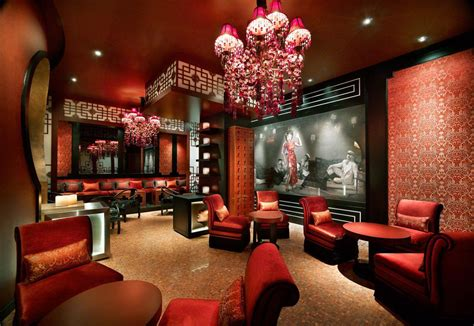 Decorating Themes : Classic Modern Chinese Interior With Red Themes Decorating