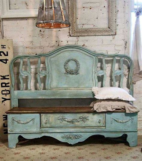 Benches Made Out Of Headboards by Best 25 Bed Frame Bench Ideas On Headboard