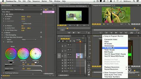 Manual Color Correction In Adobe Premiere Pro Cc