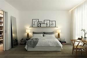 Kleines schlafzimmer einrichten 80 bilder for Lampen in der wand