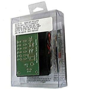 Variable Frequency Square Wave Oscillator Kit Requires