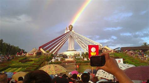 dancing sun miracle divine mercy hills philippines youtube