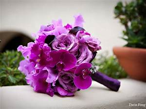 hawaiian purple orchid wedding - Google Search | The ...