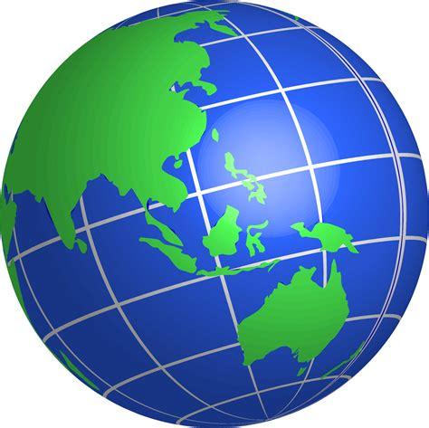 World Globe Images Clipart Oceania World Globe