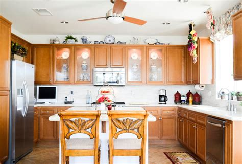 outside kitchen cabinets my houzz one story style home palm springs 1321