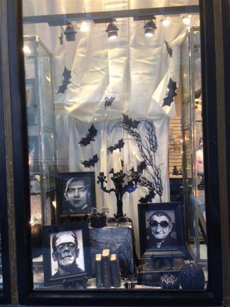 halloween window ideas  pinterest halloween