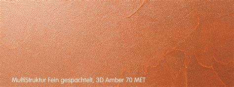 wandfarbe kupfer metallic die facetten kupfer caparol
