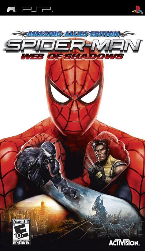 spider man web  shadows amazing allies edition