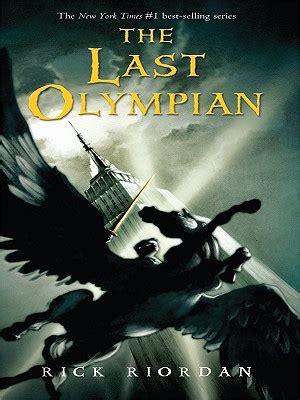 The Last Olympian (thorndike Literacy Bridge Young Adult
