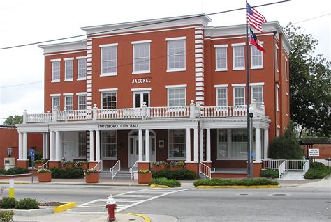 Statesboro Georgia City Hall Old Jaeckel Hotel.jpg