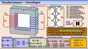 Trafo Berechnen : elektronik tutorial 17 transformatoren bertrager youtube ~ Themetempest.com Abrechnung