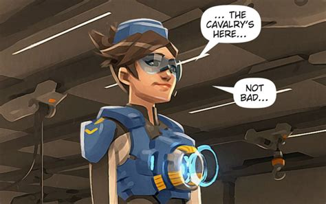 overwatchs latest comic uprising shows  skins