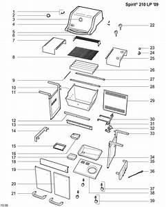 34 Weber Genesis Parts Diagram