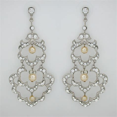 shanghai bridal chandelier earrings