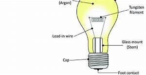 1 Structure Of An Incandescent Lamp